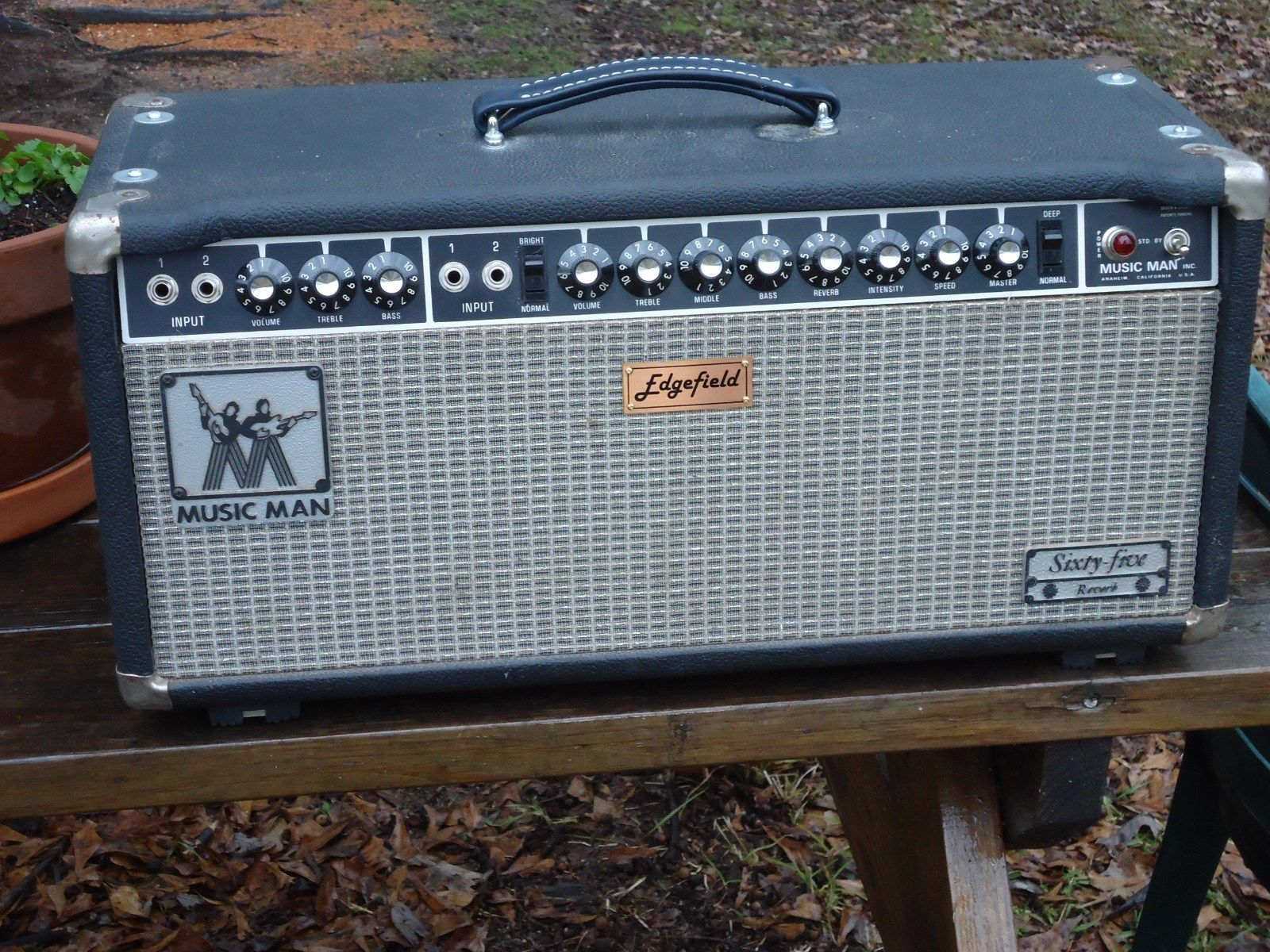 Edgefield Super Reverb, Front View