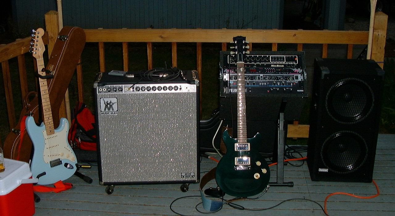 Music Man Amps Discussion Forum: Music Man Rigs at the Gig!